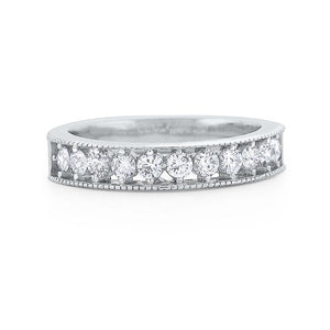 r6170 kc design diamond eternity band set in 14 kt. gold