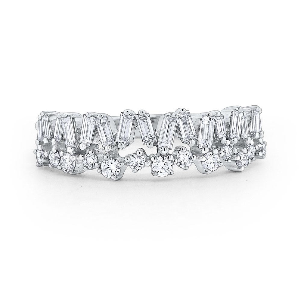r7363 kc design diamond mosaic band set in 14 kt. gold