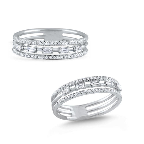 r7843 kc design round and baguette diamond band ring