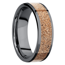 Load image into Gallery viewer, Tantalum Wedding Band With Polish Finish