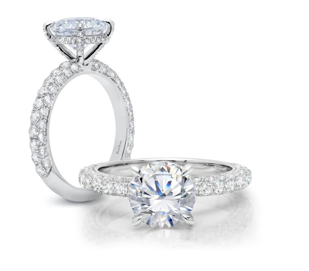 cinderella collection solitaire engagement ring ws172_4diaw peter storm