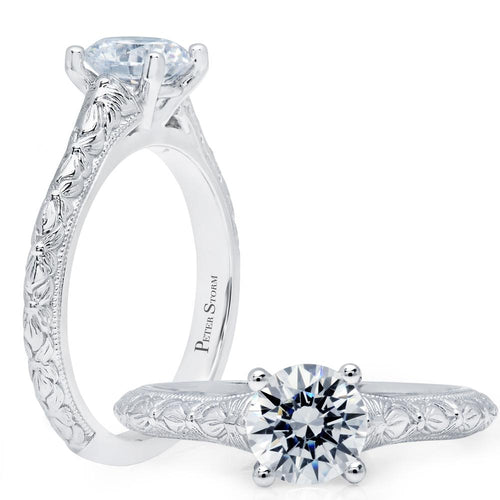 entre collection solitaire engagement ring ws384_4w peter storm
