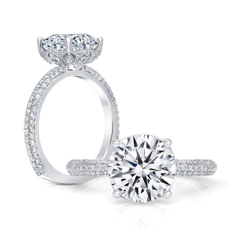 cinderella collection solitaire engagement ring ws408_4diaw peter storm
