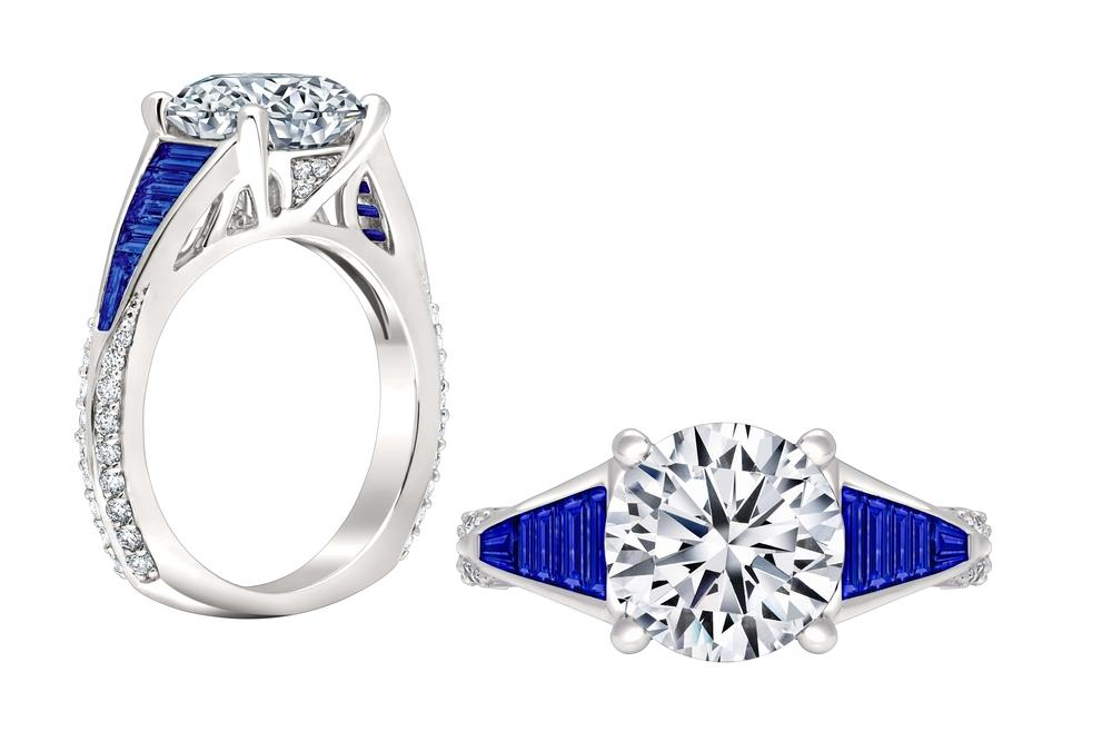 geometry collection three stone engagement ring with sapphire ws413_4dblw peter storm