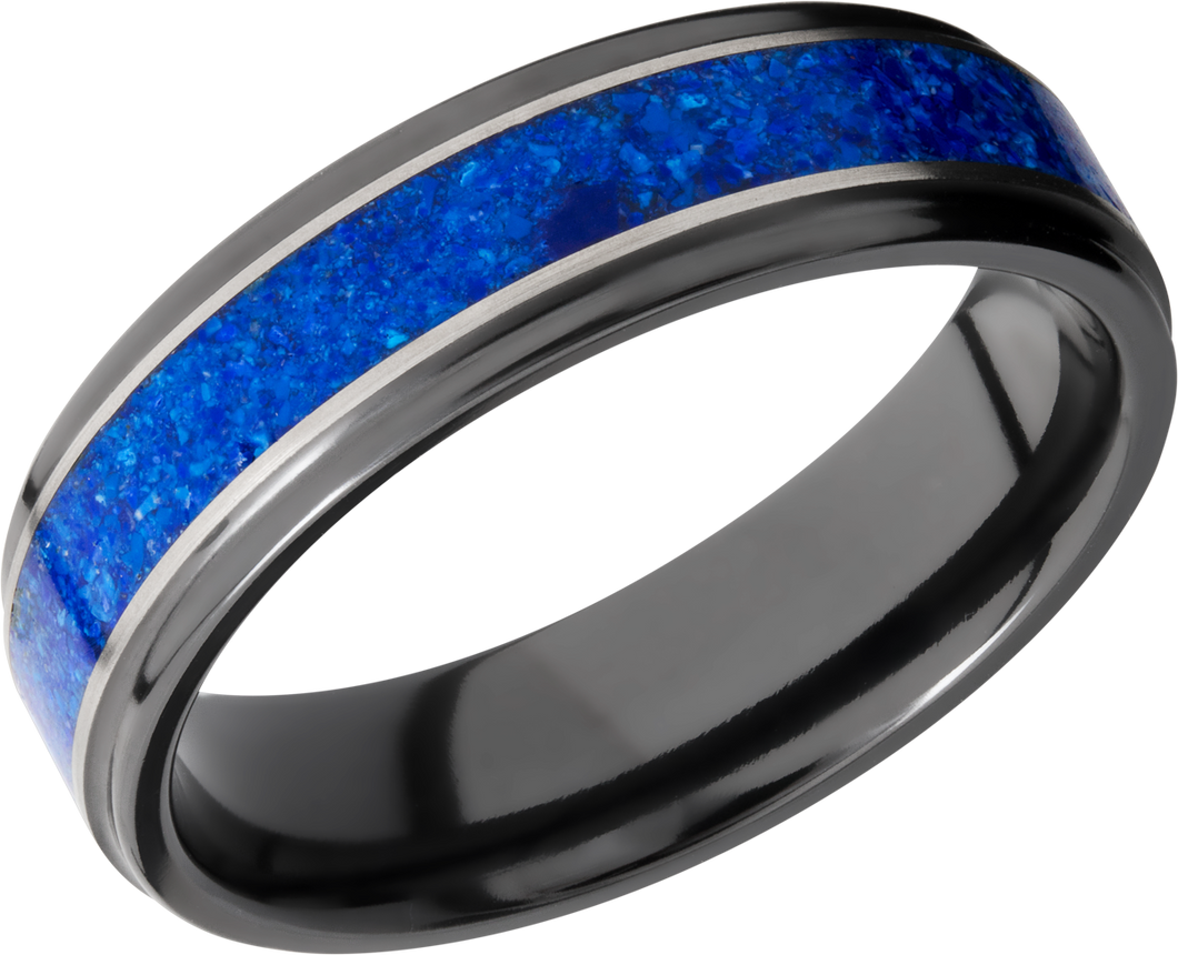 lashbrook zirconium collection zirconium 6mm flat band