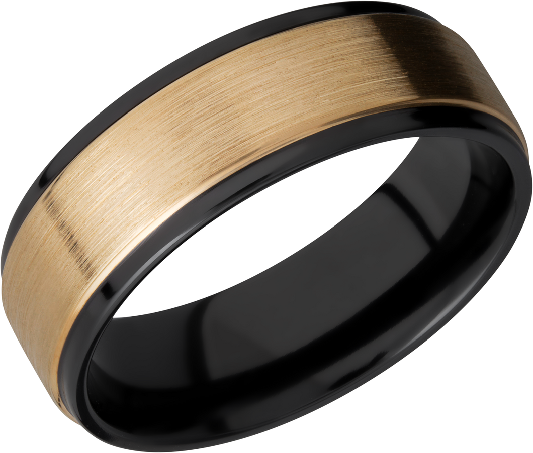 lashbrook zirconium collection zirconium 7mm flat band