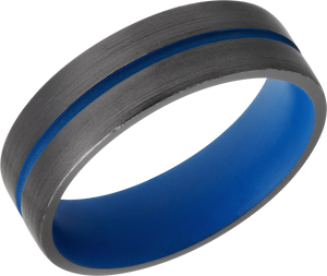 Lashbrook Zirconium 6Mm Domed Band