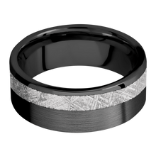 Load image into Gallery viewer, Meteorite Wedding Band With Satin Finish