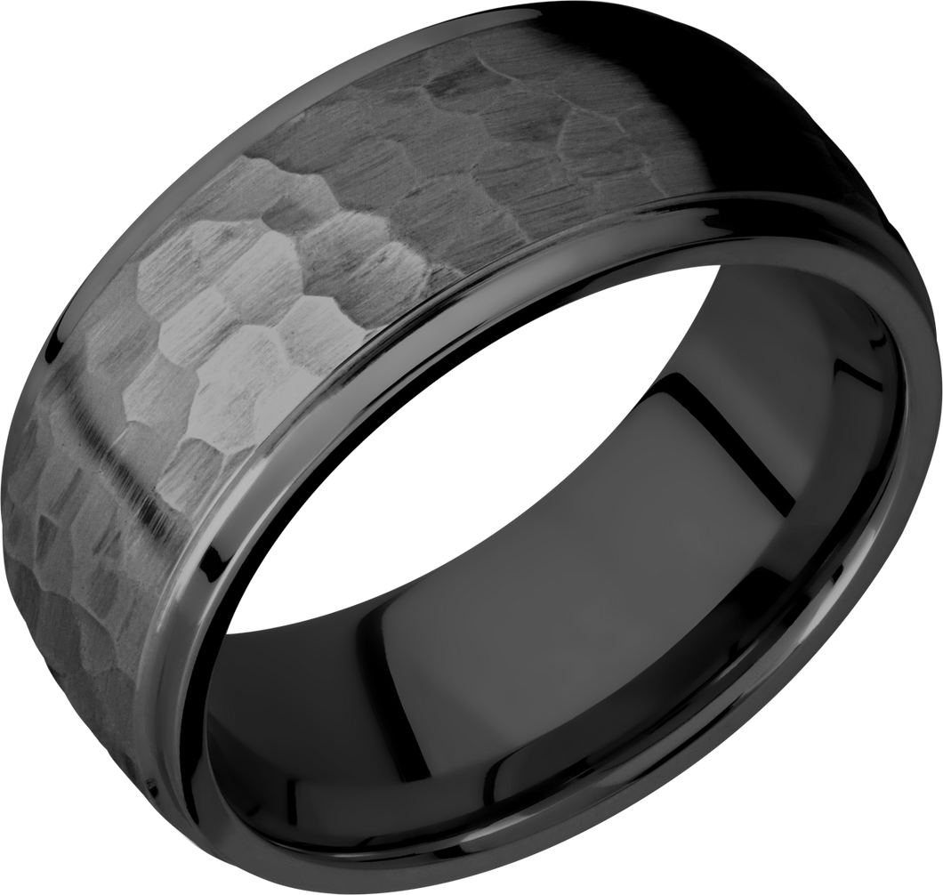 lashbrook zirconium collection zirconium 9mm domed band