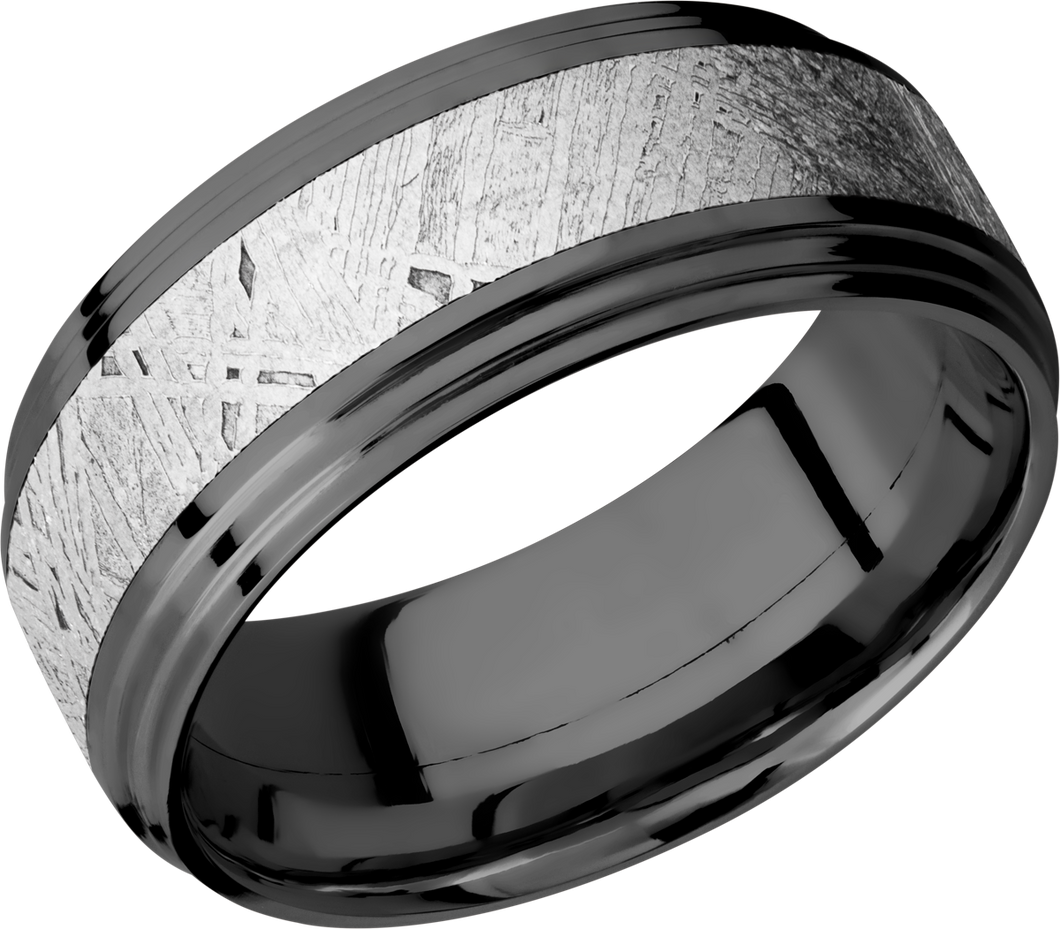 lashbrook meteorite zirconium 9mm flat band