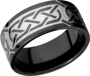 lashbrook zirconium collection zirconium 9mm flat band