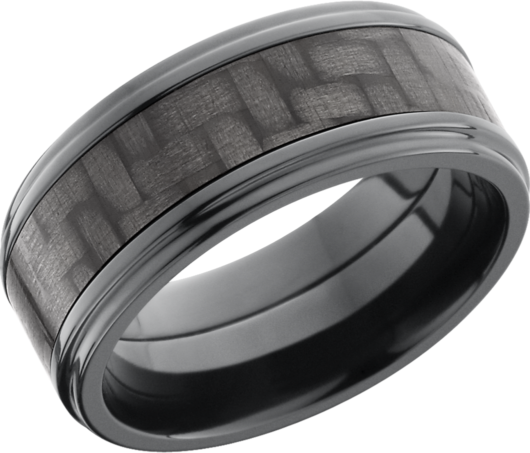 Lashbrook Zirconium 9mm Flat Band