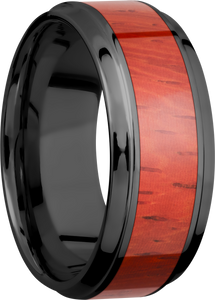 lashbrook hw zirconium 9mm beveled band