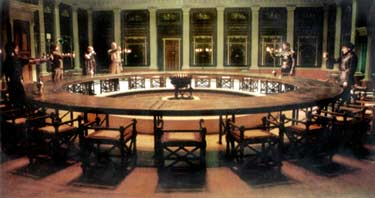 An Image Of The Round Table From The Excellent Movie King Arthur With Clive  Owen And Kiera Knightley From 2004