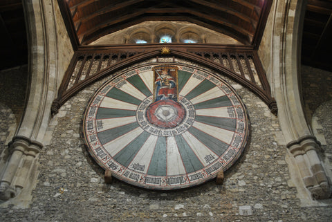 King arthur 39 s round table the table server - Round table winchester cathedral ...