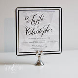 Faceted Invitation