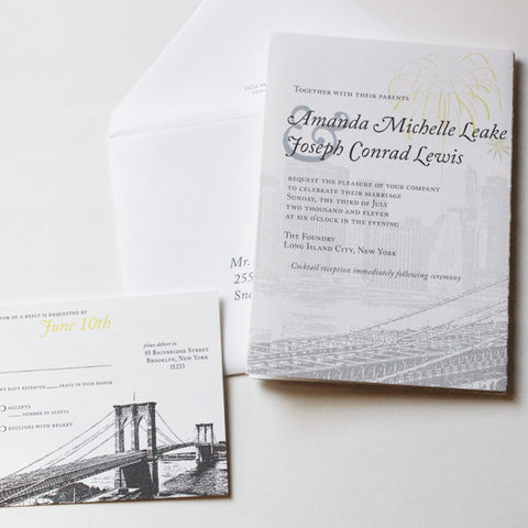 Brooklyn Bridge Trifold