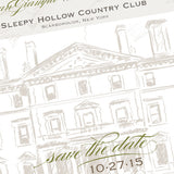 Sleepy Hollow Country Club, Save the Date