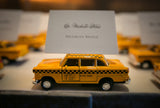 Taxi Cab Escort Cards, Taxi Cab Place Cards