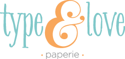 Type & Love Paperie