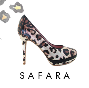 Safara Leopard Sole Searching Footwar