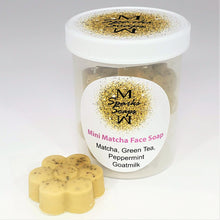 Load image into Gallery viewer, Mini Matcha Face Soap - Sparks Soaps
