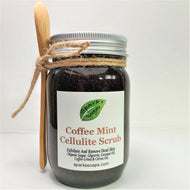 Coffee Mint Cellulite Sugar Scrub - Sparks Soaps