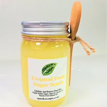 Load image into Gallery viewer, Tropical Body Sugar Scrub - Sparks Soaps
