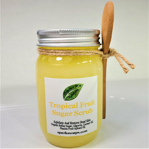 Tropical Body Sugar Scrub - Sparks Soaps