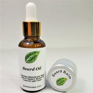 Beard Oil and Beard Balm - Sparks Soaps