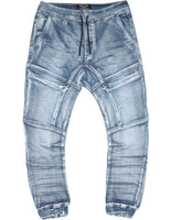 DRIFTER CARGO PANTS (LT DENIM) - INDIE KIDS