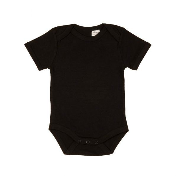 Baby Blanks Short Sleeve Bodysuits (3 colours)