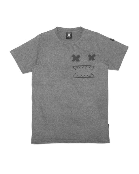 CROSS EYES TEE (DK GREY) - BAND OF BOYS