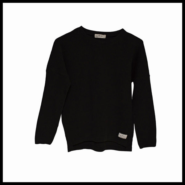 RONIN SWEATER (BLACK) - I DIG DENIM