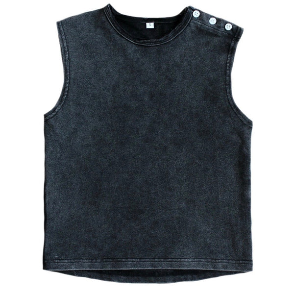 MUSCLE TANK (ACID BLACK) - DUKE OF LONDON