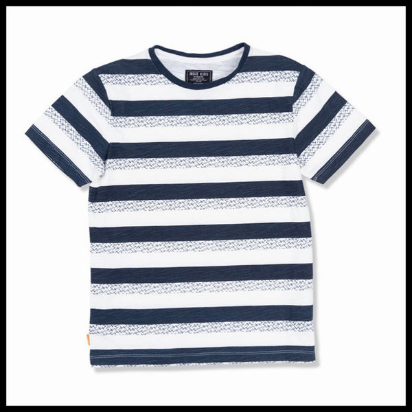 FALL STRIPE TEE - INDIE KIDS