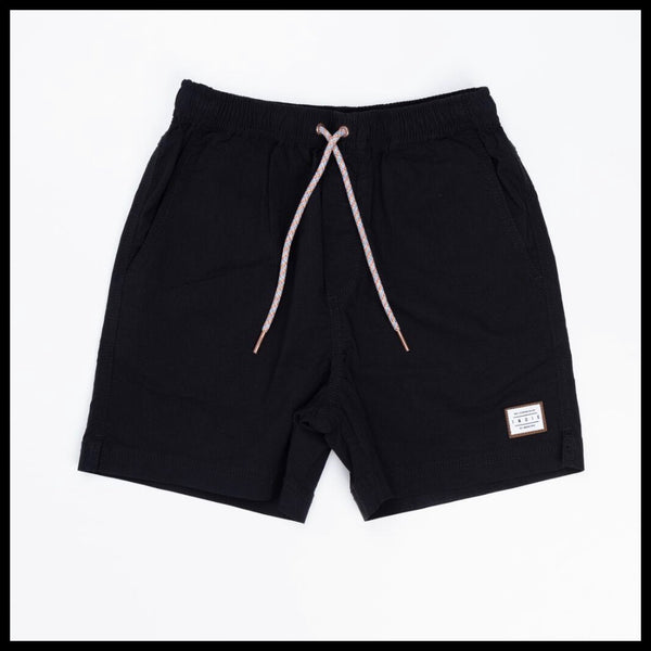 SIERRA BOARDIES (BLACK) - INDIE KIDS