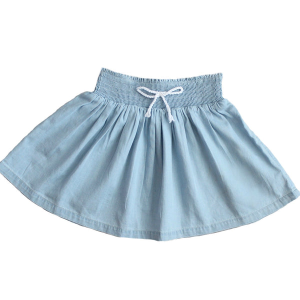 DENIM WASH SKIRT - DUKE OF LONDON
