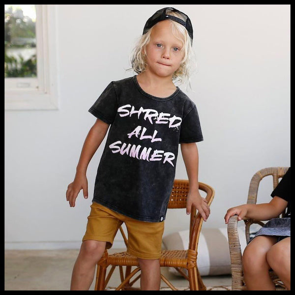 SHRED ALL SUMMER TEE - LITTLE LORDS