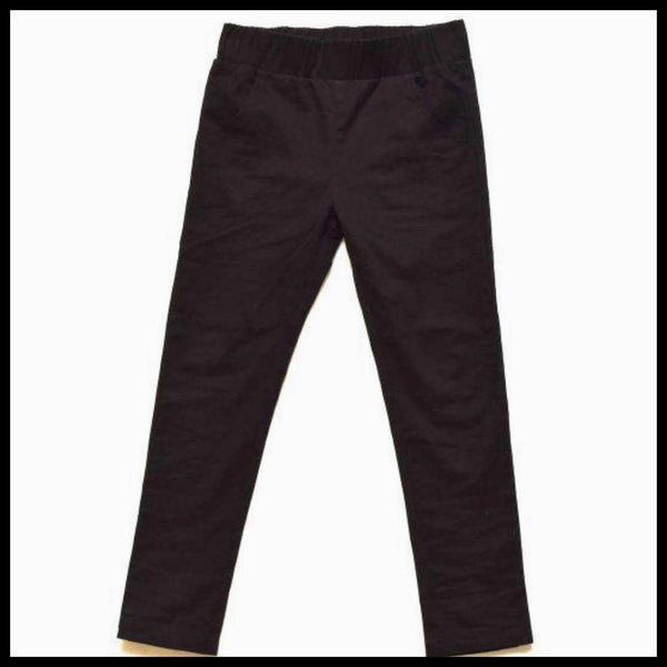 SKINNY PANTS (BLACK)  - LITTLE LORDS
