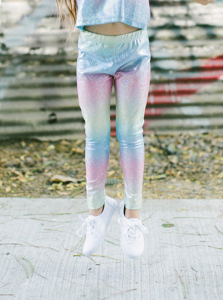 IRIDESCENT LEGGINGS - LIL XO KINGS