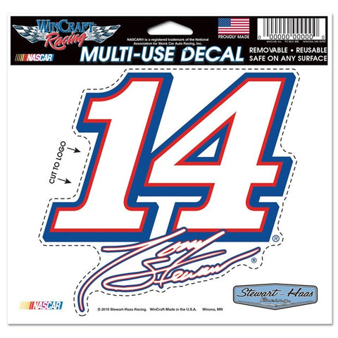 #14 Diecut Decal-Multi Use