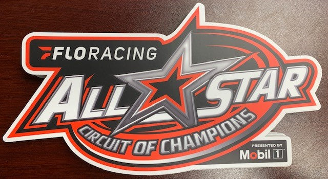 Flo Racing All Star Official Series Wing Panel Decal