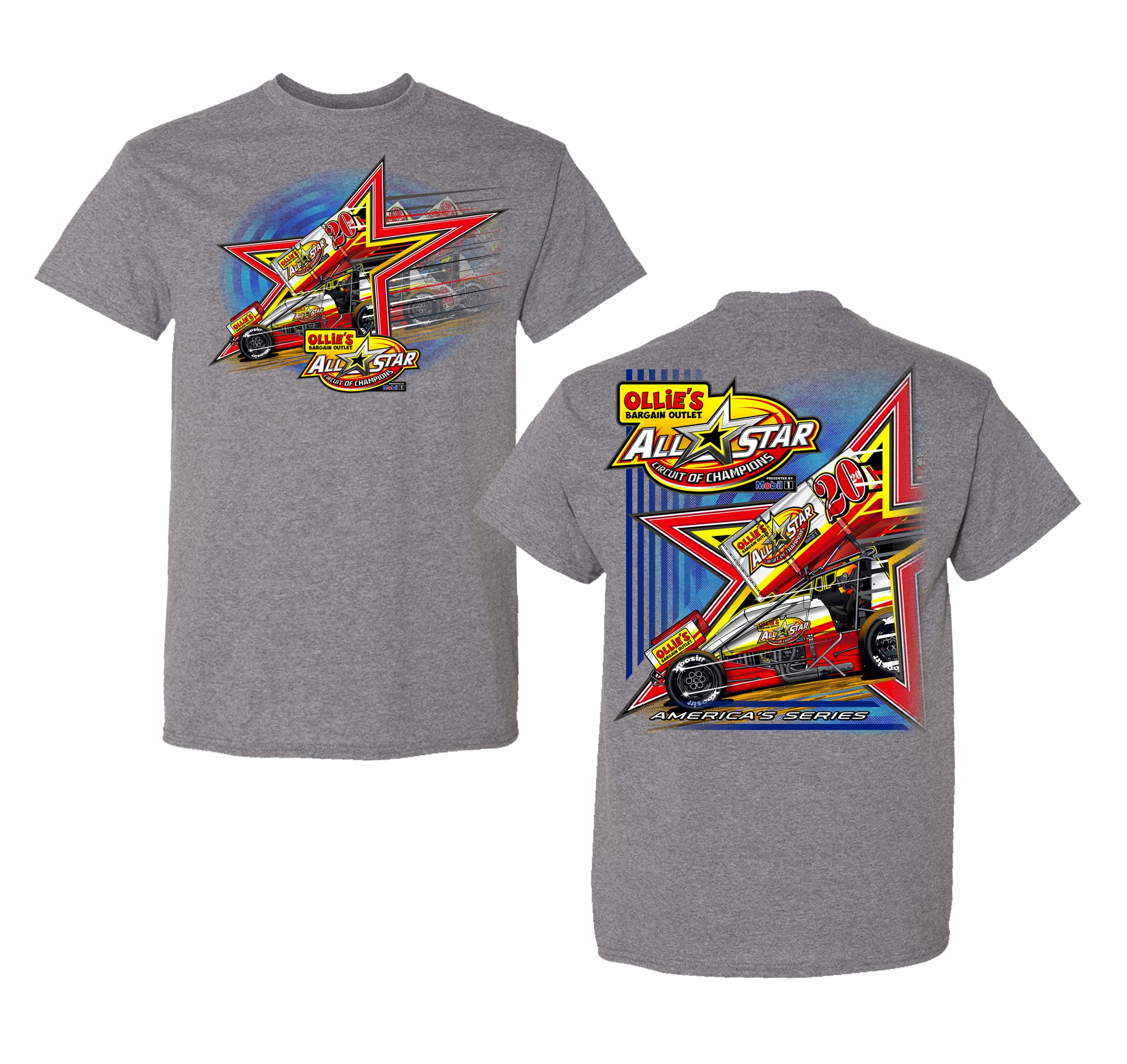 Ollies All Star Car T-Shirt