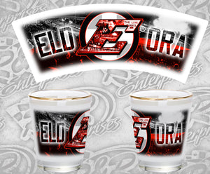 Eldora All Things Shot Glass