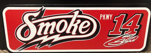 Smoke Road Sign