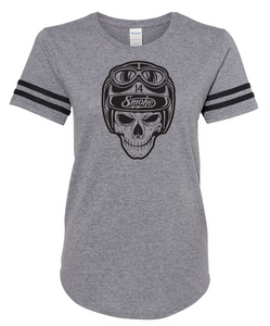 Ladies Smoke Skull