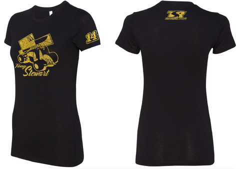 Ladies Gold 14 Tee