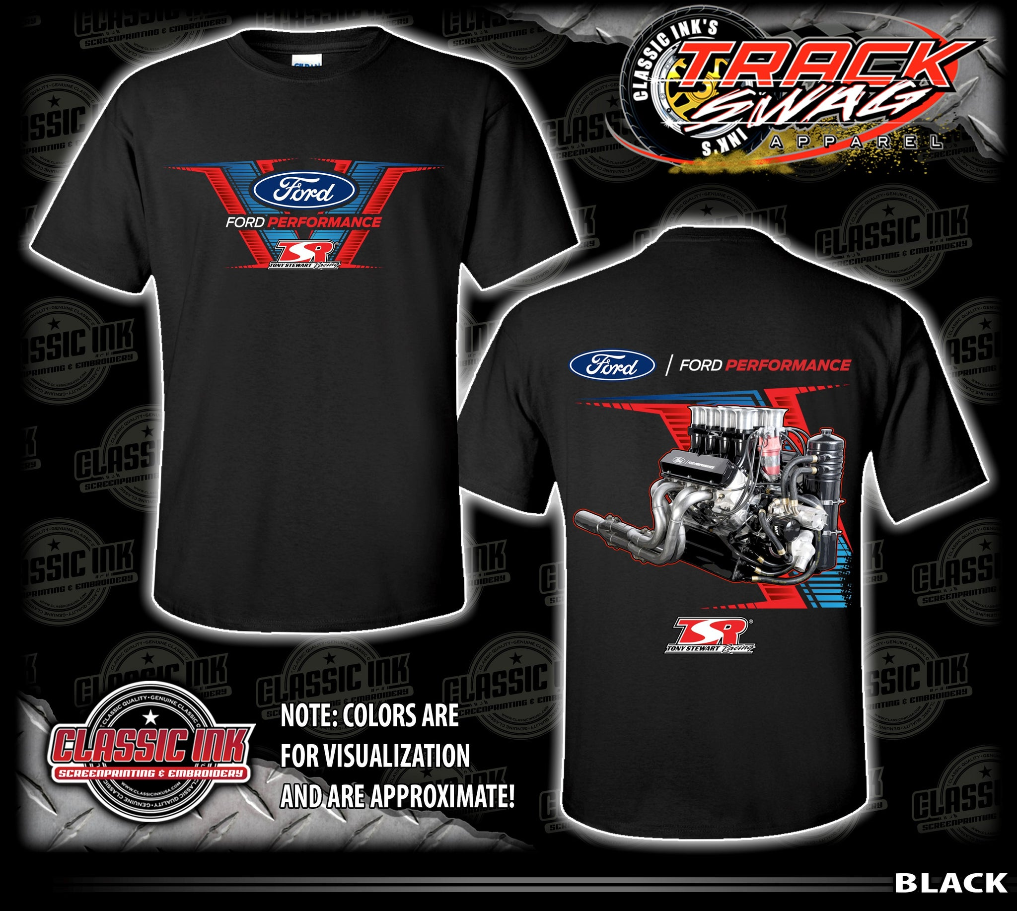 Ford Performance Engine T-Shirt