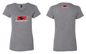 Ladies TSR Logo V-Neck Tee